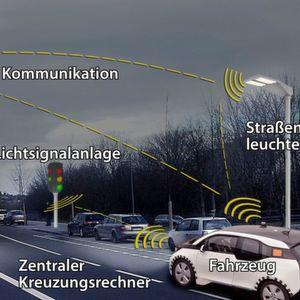 Das Projekt I2Ease würde für eine intelligente Vernetzung von Fahrzeug und Infrastuktur sorgen.