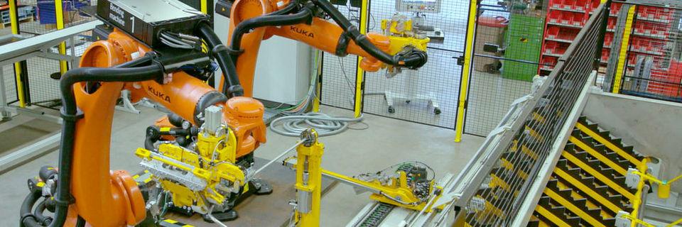 Mit der Verbindung aus Robotorhandling und Biegesystem können bis zu 4500 mm lange Rohrleitungen bearbeitet werden.