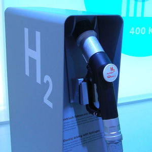 Wasserstoff-Zapfsäulen sind weltweit kaum zu finden.