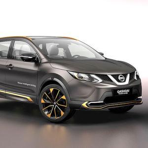Mit dem Qashqai Premium Concept zeigt Nissan in Genf Premiumqualitäten und seine Vorstellungen vom autonomen Fahren.