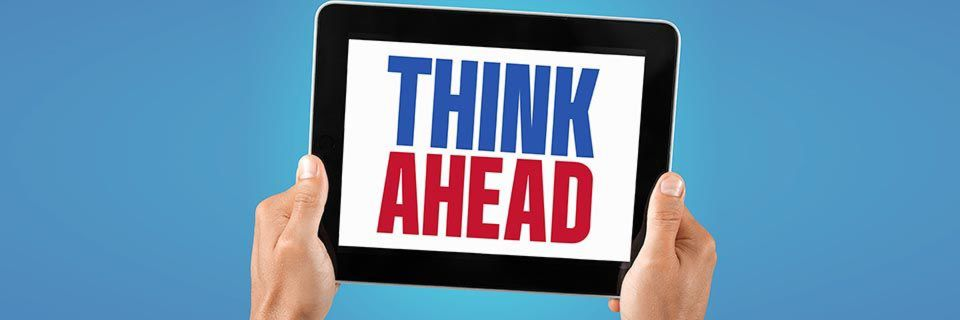 """""""Think Ahead"""" – unter diesem Motto diskutiert Acquia regelmäßig mit Interessenten und Kunden Themen wie die digitale Transformation."""