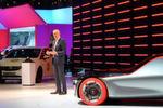 Opel-Chef Karl-Thomas Neumann hat in Genf die GT-Designstudie präsentiert.