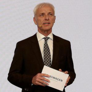 VW-Konzernchef Matthias Müller skizzierte auf dem VW-Konzernabend vor Beginn des Genfer Salons die Zukunft des Konzerns.