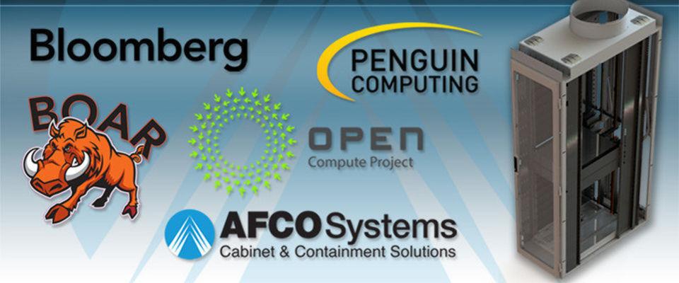 """""""Boar"""" heißt die Bloomberg-Variante des Open-Compute-Rack von AFCO."""