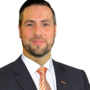 Michael Weingrill präsentiert als Verkaufsleiter Kübler Österreich.