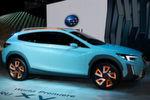 """Die Studie """"XV"""" vermittelt einen ersten Eindruck von der nächsten Generation des kompakten Subaru-SUV-Crossovers."""
