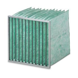 Camfil bietet einen F7-Taschenfilter der Energie-Klasse A+ und sorgt damit für Boni in der Energiebilanz.