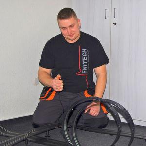 Der Gewinner des Push-in-Contests heißt Sven Kunstmann von Enitech Energietechnik - Elektronik GmbH. Er darf sich auf ein Formel-1-Wochenende freuen.