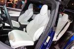 Das zweite Modell von Tesla bietet bis zu sieben Insassen Platz.
