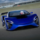 E-Supersportwagen kommt dank Turbinen-Lader über 2000 km weit