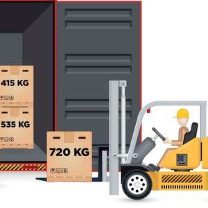 iForks von Ravas und eine App ermitteln und übertragen Containergewichte gemäß Solas-Anforderungen.