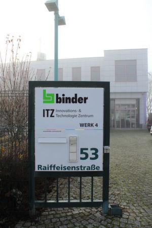 """Binder erweitert sein Unternehmen mit dem """"Innovations- & Technologie-Zentrum"""" in Bad Rappenau. Der Schwerpunkt des Zentrums soll vermehrt auf der Forschung z.B. im Bereich der gedruckten Elektronik liegen."""