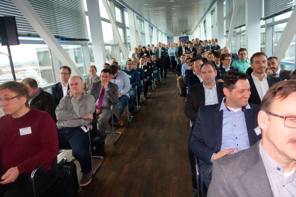 Über mangelndes Interesse am Isilon-Tag in München konnte sich EMC nicht beklagen.