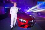Formel-1-Legende und Mercedes-Benz-Markenbotschafter Mika Häkkinen präsentierte das neue S-Klasse Cabriolet.