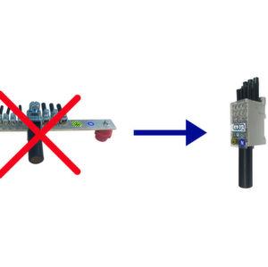 Der Phasenverteilungsblock PVB von Gogatec reduziert Platzbedarf und Montageaufwand