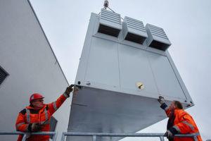 Der Vorteil von Containern liegt in der schnellen Verfügbarkeit und der hohen Flexibilität am Aufstellort.