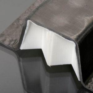 Beispielbauteil für die Kombination aus 3D-Druck und Faserverbundwerkstoff.