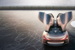 Vision Next 100 heißt der schnittige Flitzer und ist eines von vier Concept Cars, die der Autobauer im Jubiläumsjahr zeigen will und die einen Blick in die Zukunft der vier Kernmarken des Konzerns erlauben sollen.