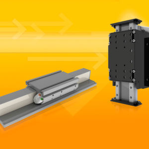 Bisher waren nur die direktangetriebenen Linearachsen der Baureihe MLL (li.) in Größe 2 erhältlich. Nun gibt es auch die Baureihe MLE in der kleinsten Ausführung. Ebenfalls neu sind die für den Z-Achs- Betrieb angepassten Linearachsen MLLZ2 (re.).