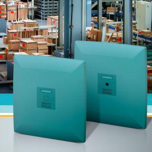 Siemens bietet mit der Simatic RF680A eine adaptive Antenne für die UHF-Schreib-/Lesegeräte (Reader) RF650R, RF680R und RF685R.