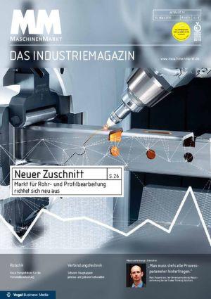 Die Titelseite des MM MaschinenMarkt 11/2016 zeigt den Index aus KW 9.