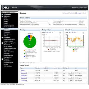 Dells neue DR6300-Appliance ist für mittelständische Unternehmen geeignet.
