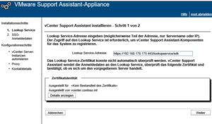 VMware vCenter Server Support Assistant 6.0 bietet eine effiziente Überwachung und Verwaltung der Support-Anfragen.