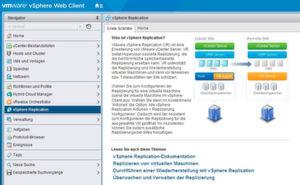 VMware bietet eine Appliance mit einem eigenen Replikationsdienst an, über den Unternehmen VMs zwischen verschiedenen Standorten und Rechenzentren replizieren können.