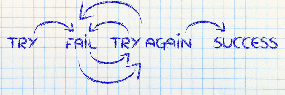 """Das Geheimnis des Erfolgs ist nicht """"das schnelle Scheitern"""" ansich, sondern schnell daraus zu lernen und etwaige Konsequenzen ziehen."""