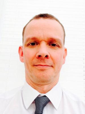 Chris Likely, Regional Sales Manager Northern Europe bei Eaton, hält auf der Datacenter-Konferenz während der CeBIT einen Vortrag zu den Super Caps.