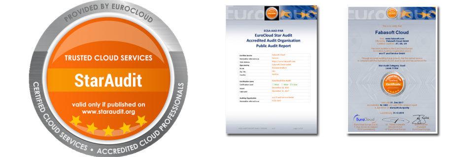 Das Zertifikat für die Fabasoft Cloud gilt für die DACH-Region und bis Ende 2017.