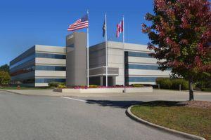 Der neue Hauptsitz des Geschäftsbereichs Global Electronics von ZF TRW im Arboretum Office Park, Farmington Hills, Michigan (nahe Detroit).
