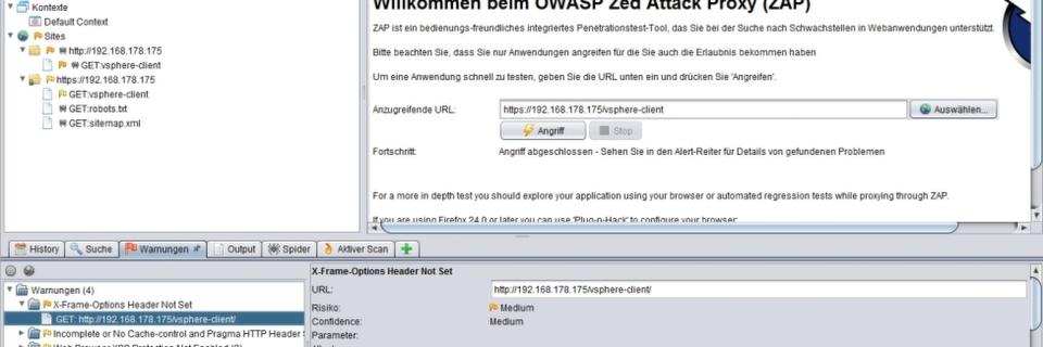 Mehr Sicherheit für Webanwendungen mit Zed Attack Proxy Project (ZAP)