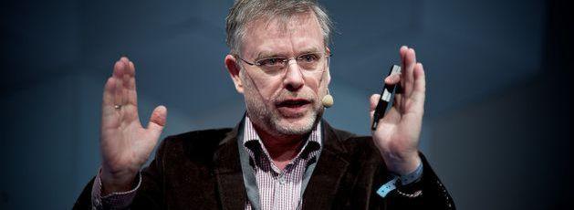 Professor Gunter Dueck (Archivbild): Der frühere Cheftechnologe von IBM Deutschland sezierte auf der REConf die alltägliche Dummheit im Berufsleben und im Management.