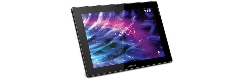 In den Süd-Filialen bietet Aldi das Medion-Tablet Lifetab S10366 für 199 Euro an.