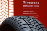 Firestone Destination Winter: neuer Schneereifen für SUVs von der Bridgestone-Tochtermarke.