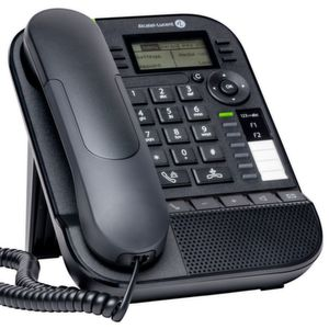 Vier neue Telefone stellt Alcatel Lucent auf der Cebit vor.
