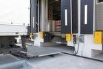 Das elektronische Anfahrsystem mit Sensor, Ampel und Anfahrpuffer sorgt für sicheres Andocken (Grün = bereit zum Verladen).