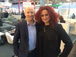 Benedikt Häusler von Infinigate mit Besa Agaj, IT-BUSINESS