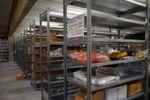 Insgesamt wurden 4500 Fachböden montiert.