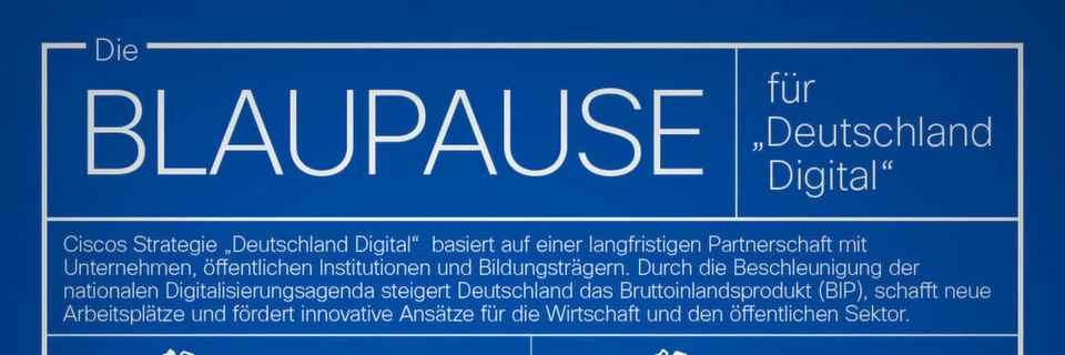 Cisco will Vorreiter bei der Digitalisierung Deutschlands sein.