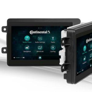 Kein CD-Laufwerk und dadurch sehr kompakt: neue Radio-Plattform von Continental.