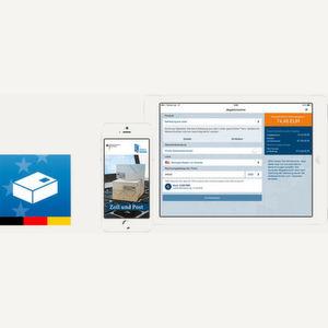 """Die """"Zoll und Post""""-App gibt einen Überblick zur Berechnung und Erhebung von Einfuhrabgaben"""