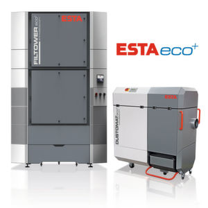 Das Hallenlüftungssystem Filtower zur Einhaltung der Reststaubgrenzwerte in Produktionshallen sowie der mobile Entstauber Dustomat 4 werden auf der Powtech 2016 in der neuen eco+ Ausführung vorgestellt.