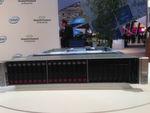 Das jüngste 'Converged System' von HPE auf der CeBIT: HC 380