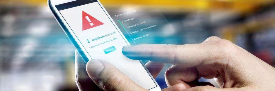 Sowohl Kunden als auch die Konecranes-Servicetechniker können die Daten über jedes internetfähige Gerät mit Webbrowser abrufen, also auch mit Tablets oder Smartphones.