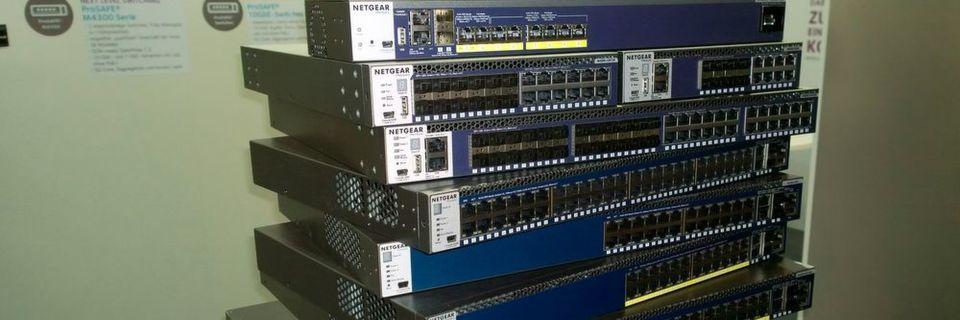 Die neuen Switch-Serien M4200- und M4300 sind auch für kleine und mittlere Unternehmen bestimmt. Sie sollen ein besonders einfaches Management erlauben.