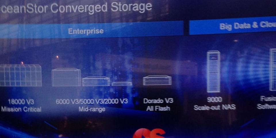 Bis zu 60 Petabyte an Storage kann das Huawei-Storage-Systeme Oceanstor 9000 zur Verfügung stellen.