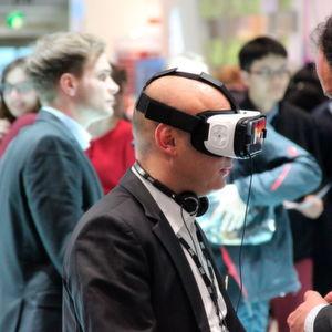 Viele Entwickler präsentierten so Ihre Ideen und Prototypen für Augmented oder Virtual Reality.