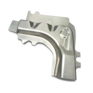 Durch die neuentwickelte Technologie der Aluminiumblech-Warmumformung lassen sich komplexe Geometrien erzeugen.
